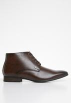 MAZERATA - Magio lace-up boot - brown