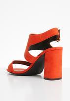 STYLE REPUBLIC - Slingback heel - orange