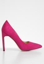 Public Desire - Miriam pointed stiletto heel - pink