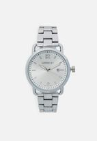 Superbalist - Noah chain strap watch - silver