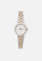 Superbalist - Maya two-tone watch - rose gold & silver