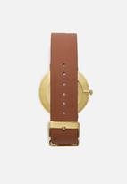Superbalist - Charlie leather watch - brown