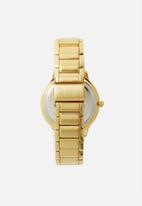Superbalist - Alan chain strap watch - gold & blue