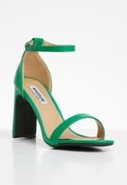 Madison® - Ankle strap heels - green