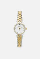 Superbalist - Maya two-tone watch - gold & silver