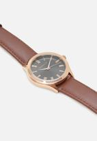 Superbalist - Trace leather strap - brown