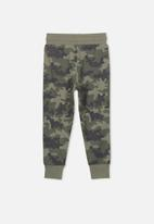 Cotton On - Leo trackpant - green