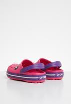 Crocs - Kids croc band clog - pink & purple