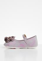 POP CANDY - Flower pumps - purple & silver