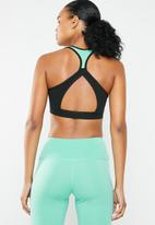 South Beach  - Colourblock open back detail support top - multi