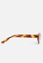 Superbalist - Tyra oval sunglasses - brown