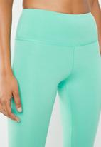 South Beach  - High waisted seamless legging - turquoise