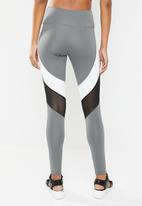 South Beach  - Mono sculpt legging with charcoal base - multi