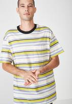 Cotton On - Dylan stripe tee - multi