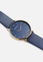 Superbalist - Becky leather watch - navy