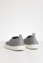 POP CANDY - Knitted slip on - grey