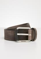 Diesel  - B log belt - brown