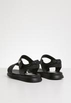 POP CANDY - Glitter sandal - black