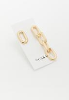 ByCARA - Asymmetric link drops - gold