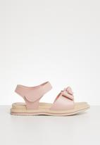 POP CANDY - Bow detailed sandal - pink