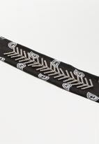 ByCARA - Diamante bandana choker - black & sliver