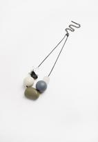 Joy Collectables - Statement necklace - grey
