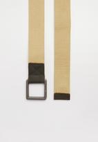 STYLE REPUBLIC - Plain webber belt - beige