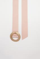 Joy Collectables - Basic jeans belt - pink