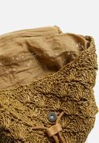 BLACKCHERRY - Woven backpack - brown