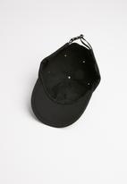 Superbalist - Cam slogan peak cap - black