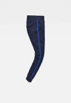 G-Star RAW - Alchesai slim tapered sweat pant -  blue