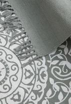 Sixth Floor - Dantela printed runner - grey