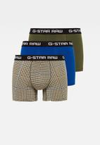 G-Star RAW - Classic trunks 3 pack - multi