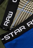 G-Star RAW - Classic trunks 3 pack - multi