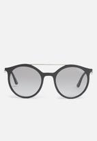 Vogue - Vogue bar round sunglasses - black