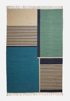 Sixth Floor - Perry west woven rug - multi