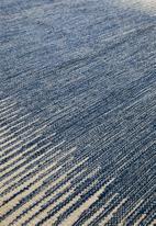 Sixth Floor - Chaya woven rug - blue
