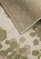 Fotakis - Floral cottage rug - green