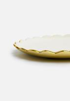 Sixth Floor - Brimley trinket tray - gold