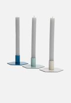 Sixth Floor - Marlee candle holder set - multi