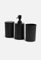 Sixth Floor - Kento soap dispenser - black