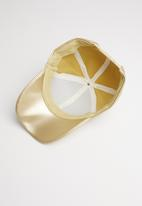 Superbalist - Jordan peak cap - gold