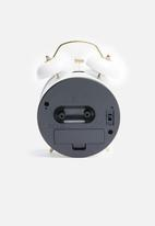 Present Time - Classic bell alarm clock
