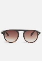 Unknown Eyewear - Moscow sunglasses - brown & black