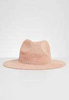Joy Collectables - Fedora hat - pink