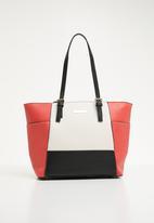 BLACKCHERRY - Colour block tote bag - multi