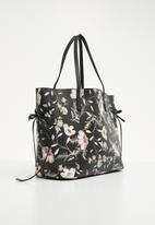 New Look - Floral print tie side tote bag - multi