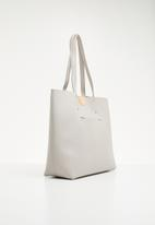 New Look - Tessa unlined tote bag - grey