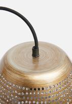 Sixth Floor - Wren pendant - brass