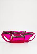 Superbalist - Transparent waist bag - pink